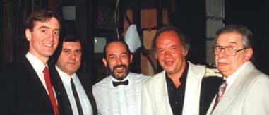 David Earl, Andre Prokovsky and three men.